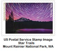 Star Trails Stamp